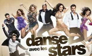 Détail d'un poster promotionnel de la saison 6 de «Danse avec les stars».
