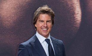 Tom Cruise lors de l'avant-première de Jack Reacher à Berlin