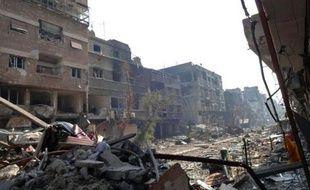 L'agence de l'ONU pour l'aide aux réfugiés palestiniens, l'UNRWA, a réclamé samedi d'avoir de nouveau accès au camp palestinien de Yarmouk à Damas, une semaine après la suspension des opérations de distribution d'aide.