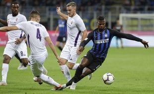 Keita Baldé n'a toujours pas marqué avec son nouveau club de l'Inter Milan.