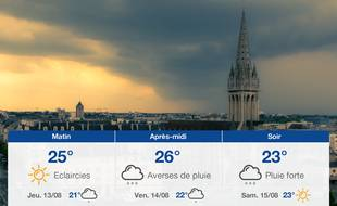 Météo Caen: Prévisions du mercredi 12 août 2020