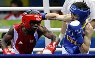 En moins de 60 kg, Daouda Saw accède aux demi-finales, le mardi 19 août 2008