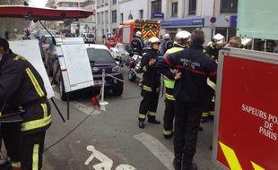 Le siège du journal Charlie Hebdo a été visé ce mercredi par des tirs d'armes automatiques.
