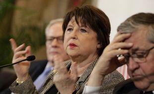 Martine Aubry, maire (PS) de Lille, à la rentrée 2016.