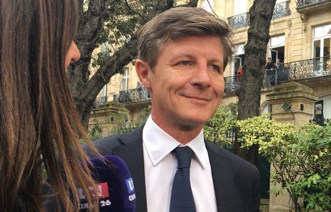 Nicolas florian, qui va succéder à Alain Juppé, à la mairie de Bordeaux