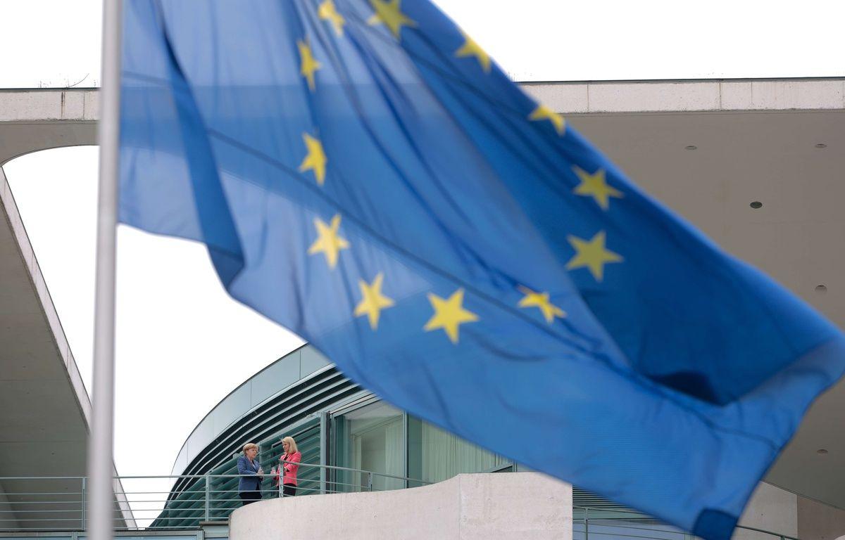 Illustration du drapeau européen, de l'Union européenne. – Markus Schreiber/AP/SIPA