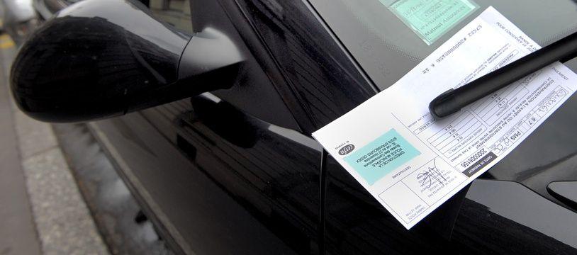 Un PV pour mauvais stationnement