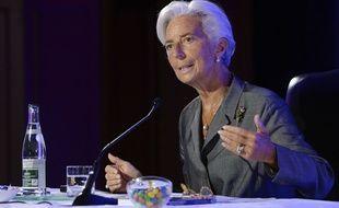 Christine Lagarde ancienne ministre et directrice du FMI s'exprimait vendredi 18 juillet à Paris sur l'Europe.
