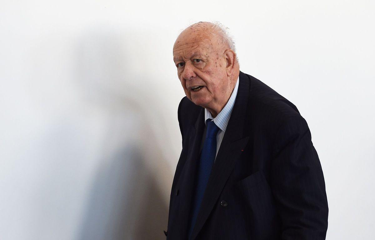Jean-Claude Gaudin, maire de Marseille. – AFP