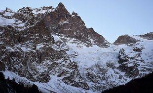 La Meije, dans le massif des Ecrins (Isère).