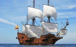 La réplique d'un galion espagnol, El Galeon