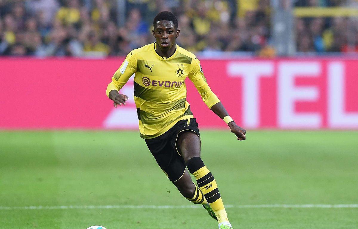 Ousmane Dembélé le 5 août 2017 face au Bayern Münich. – action press/Shuttersto/SIPA