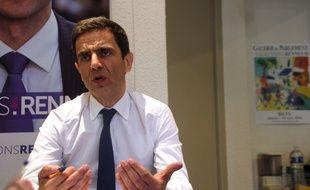 Bruno Chavanat, ici entre les deux tours des élections municipales en mars 2014.
