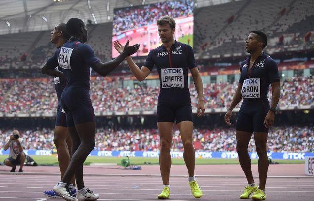 mondiaux d 39 athl tisme le relais 4x100m en finale avec le 3e meilleur chrono de l 39 histoire des bleus. Black Bedroom Furniture Sets. Home Design Ideas