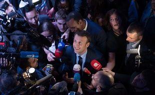 Emmanuel Macron est resté le plus possible à l'écart des médias depuis son élection.