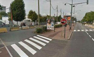 Le boulevard Jean Jaurès a été renommé  avenue Serge Dassault à Corbeil (Essonne)
