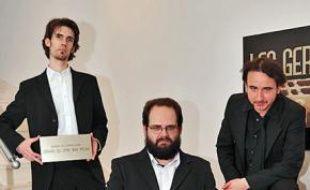 Arnaud Demanche, Stéphane Rose et Frédéric Royer, organisateurs des Gérards de la télévision.