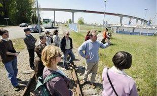 Une visite exceptionnelle du terminal de Cheviré était organisée vendredi à Nantes.