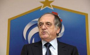 Le nouveau président de la fédération française de football, Noël Le Graët, le 24 mai 2011 à Paris.