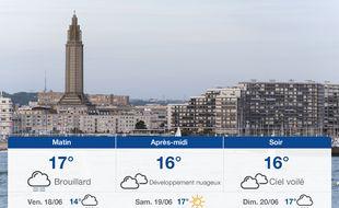 Météo Le Havre: Prévisions du jeudi 17 juin 2021