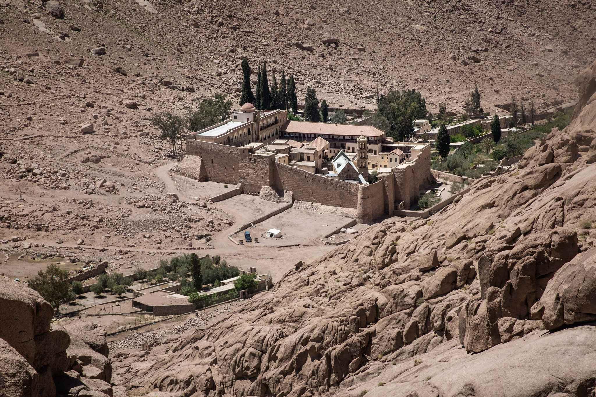 Égypte: Daech revendique l'assassinat d'un policier près du monastère de Sainte Catherine