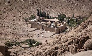 Le monastère de Sainte-Catherine, dans le Sinaï, le 16 avril 2017.