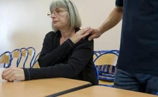 Marie-Rose Blétry, la mère de Christelle Blétry, assassinée en 1996, à Blanzy en Saône-et-Loire, le 12 septembre 2014