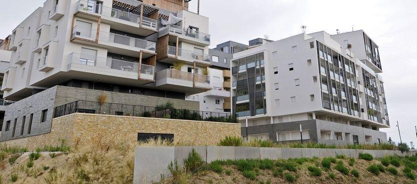 A Montpellier, Port-Marianne est l'un des quartiers en pleine expansion (illustration)
