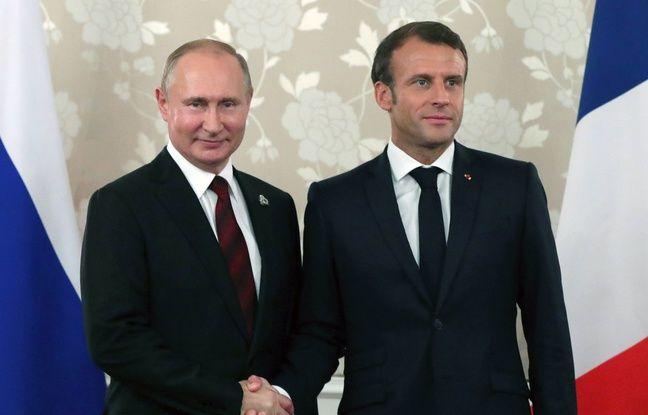 «Emmanuel Macron se sert de Vladimir Poutine pour s'affirmer aux yeux du monde»
