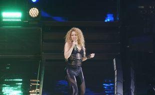 La chanteuse Shakira lors de la tournée «El Dorado World Tour»