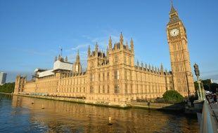 Le Parlement britannique, à Londres.