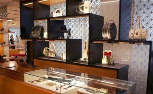 Un magasin Louis Vuitton à Paris