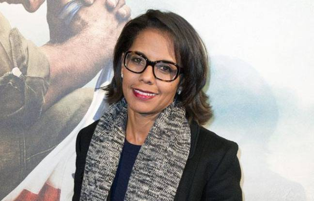 Audrey Pulvar à l'avant-première du film «L'ordre et la morale» de Mathieu Kassovitz, le 8 novembre 2011.