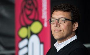 La tête de liste socialiste aux élections régionales, Christophe Clergeau. S.SALOM-GOMIS/
