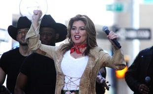 La chanteuse Shania Twain