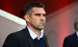Jocelyn Gourvennec, nouvel entraîneur des Girondins de Bordeaux, en mai 2016, à Lille.