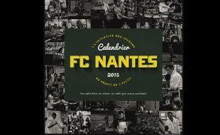 Le calendrier 2015 des joueurs du FC Nantes au profit de l'Esean.