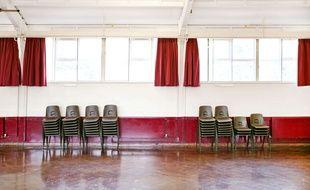 Une salle vide (Illustration).