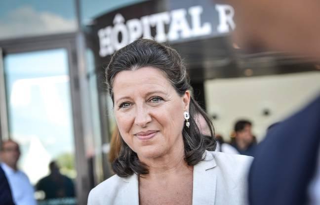 La ministre de la Santé Agnès Buzyn devant l'hôpital Robert Boulin à Libourne le 7 septembre 2018.
