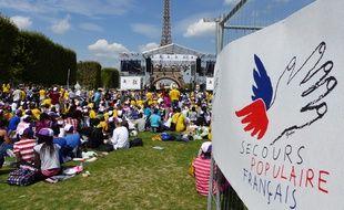 70.000 enfants de toute la France et de 70 pays du monde ont débarqué ce mercredi à Paris pour une journée exceptionnelle organisée par le Secours populaire.
