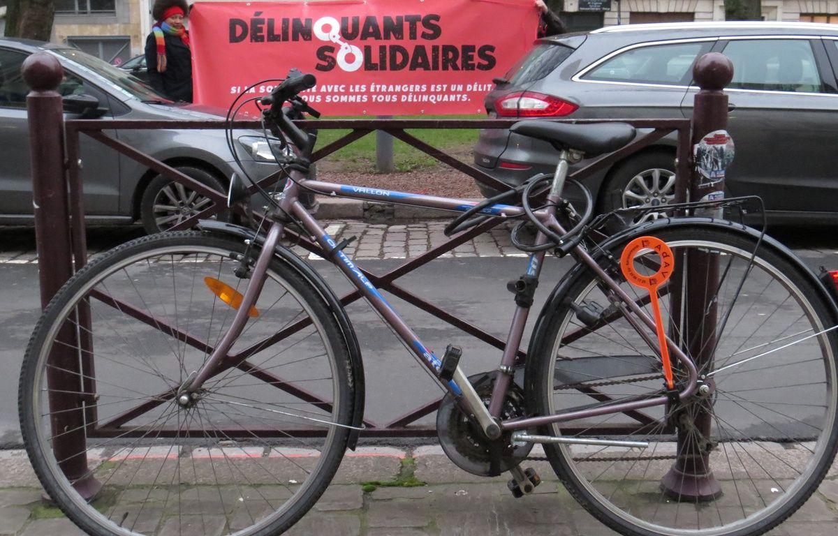 Le vélo qui a créé la polémique et provoqué un procès. – G. Durand / 20 Minutes