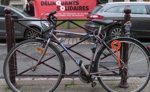 Le vélo qui a créé la polémique et provoqué un procès.