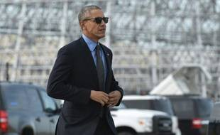 Barack Obama à Mountain View en Californie le 11 février 2016