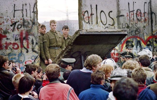 La chute du Mur de Berlin, le 9 novembre 1989
