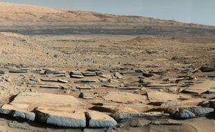Image transmise par la Nasa le 9 octobre 2015 prise par le robot Curiosity sur Mars