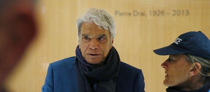 Bernard Tapie au Palais de justice de Paris, le 13 mars 2019.