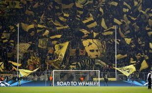 Le Mur du stade du Borussia Dortmund, lors d'un macth contre le Shakhtar Donetsk, le 5 mars 2013.