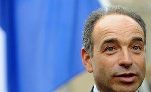 Jean-François Copé, secrétaire général de l'UMP, le 2 juillet 2012 à Fontenay-sur-Eure.