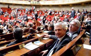 Claude Bartolone le mardi 26 juin, sur les bancs de l'Assemblée nationale.