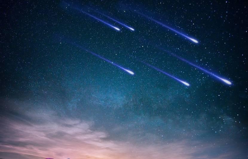 SpaceX : Une pluie d'étoiles filantes gâchée par le passage de satellites Starlink